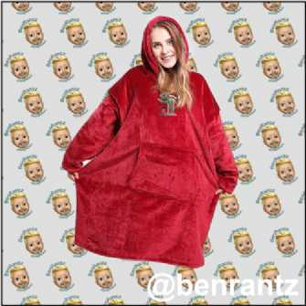 Christmas Snuggle Blanket by STAY NELSON
