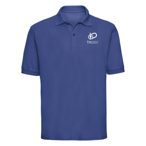 Thurrock Harriers Adult Royal Blue Polo