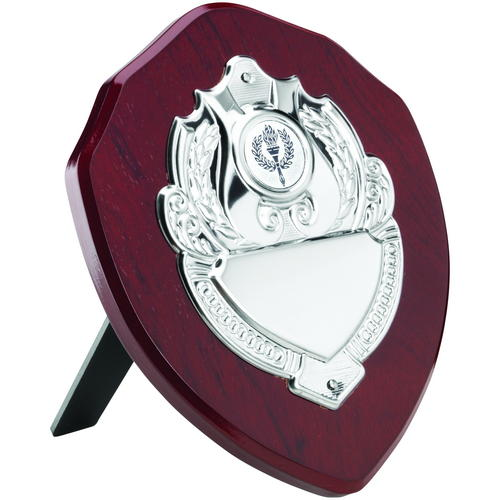 Wooden Shields With Chrome Decoration 152mm