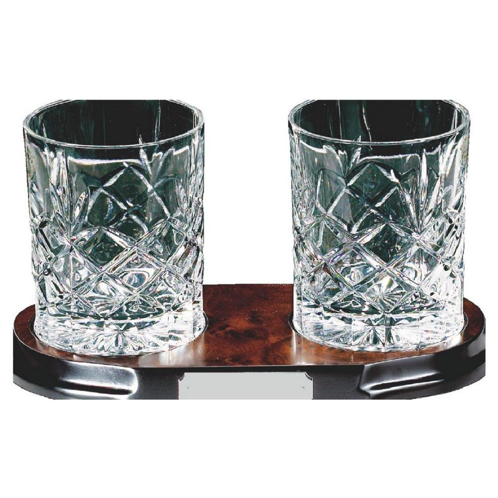 2 Spirit Glasses on Stand