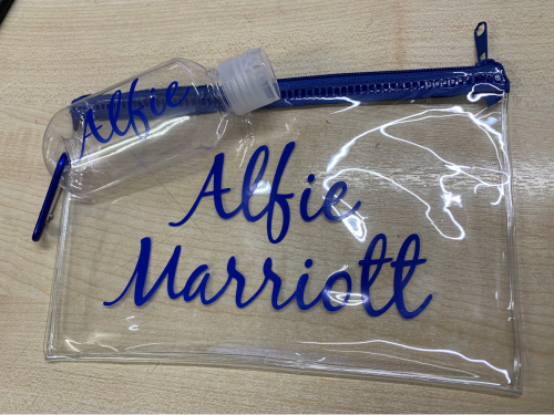 Personalised Pencil Case/Hand Gel Bottle Offer