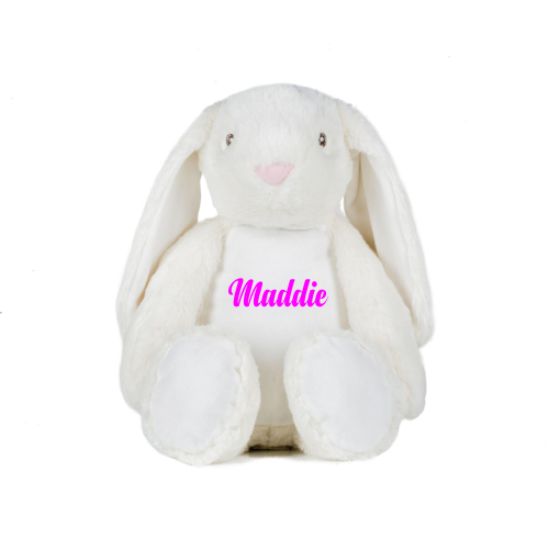 Personalised Plush Bunny